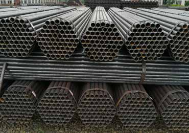BS 1387 ERW Black Steel Pipes